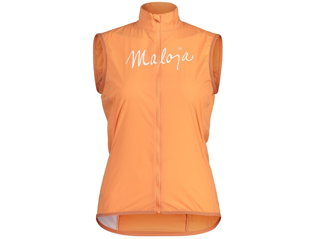 Maloja AdlerfarnM. Superlight WB Vest Women, naranja